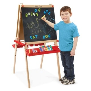 Melissa & Doug Deluxe Easel and Magnetic Boards