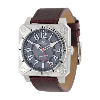 Viceroy Men's Brown Leather Calfskin Watch