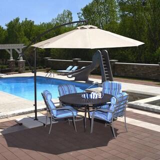 Santiago Sunbrella Acrylic 10-Feet Octagonal Cantilever Umbrella