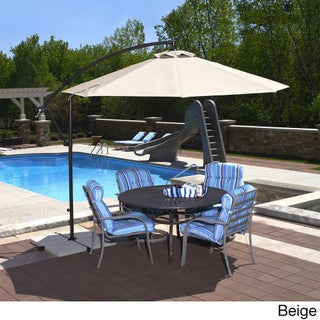 Santiago Sunbrella Acrylic 10-Feet Octagonal Cantilever Umbrella (3 options available)