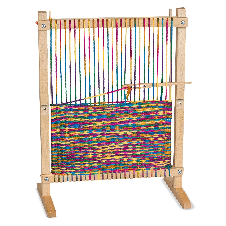 Melissa and Doug Multi-Craft Weaving Loom (Wood)