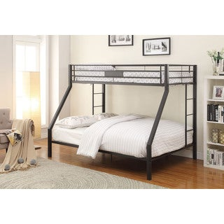 Limbra Black Twin XL / Queen Bunk bed