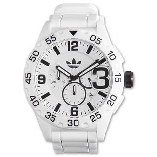 Adidas Men's Newburgh White Chronograph Rubber Strap Watch|https://ak1.ostkcdn.com/images/products/11600140/P18538767.jpg?_ostk_perf_=percv&impolicy=medium