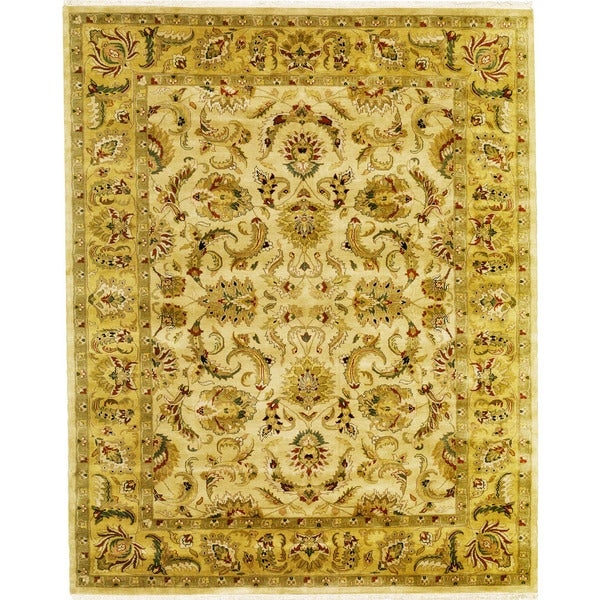Shop Hand Knotted Agra Design Rug