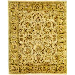Hand Knotted Agra Design Rug (3'11 x 6')