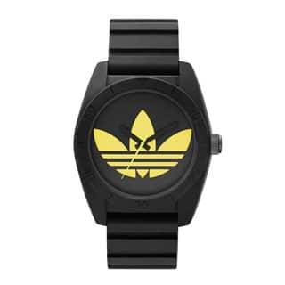 Adidas Men's Santiago Black and Yellow Dial Silicone Quartz Watch|https://ak1.ostkcdn.com/images/products/11600150/P18538769.jpg?impolicy=medium