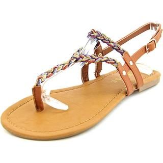 Rampage Women's 'Jellie' Fabric Sandals