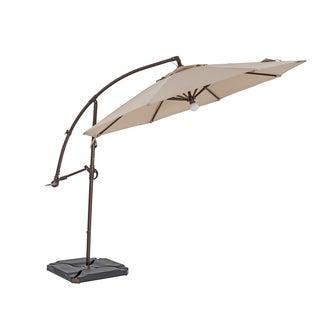 TrueShade Plus 11.5-foot Cantilever Umbrella with Light