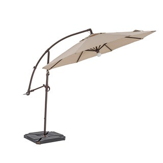 TrueShade Plus 11.5-foot Cantilever Umbrella with Light (2 options available)