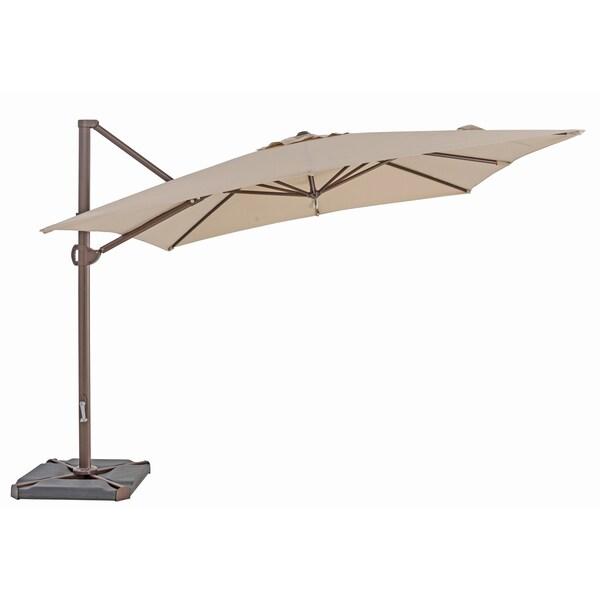 Trueshade Plus 10 Foot Cantilever Square Umbrella Free