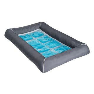 Pet Therapeutics TheraCool Cooling Gel Dog Bed|https://ak1.ostkcdn.com/images/products/11600564/P18539108.jpg?impolicy=medium
