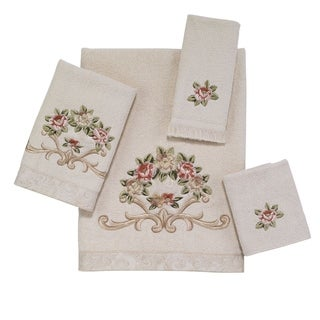 Rosefan 4-Piece Towel Set