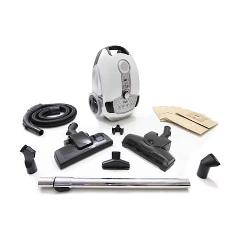Prolux Tritan Pet Canister HEPA Sealed Vacuum w/ Turbo Nozzle