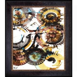 Kris Haas 'Sphere Series Painting 997042312' Framed Fine Art Print