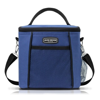 Jacki Design Urban Large Blue Insulated Lunch Bag