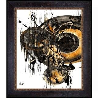 Kris Haas 'Sphere Series 69041611' Framed Fine Art Print