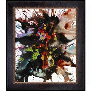 Kris Haas 'Crazy Chaotic Series 1899032214' Framed Fine Art Print