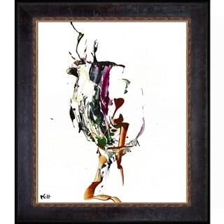 Kris Haas 'Abstract EXP Series 10186110709' Framed Fine Art Print