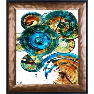 Kris Haas 'Sphere Series 1289121912' Framed Fine Art Print