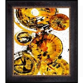 Kris Haas 'Sphere Series 1343123012' Framed Fine Art Print