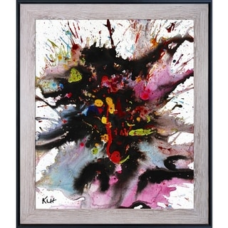 Kris Haas 'Crazy Chaotic Series 1898032214' Framed Fine Art Print