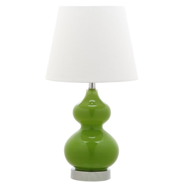 Safavieh Kids Lighting 18.75-inch Eva Green Double Mini Table Lamp