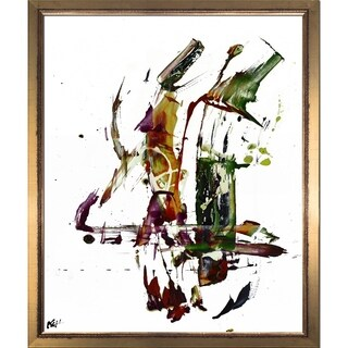 Kris Haas 'Abstract EXP Series 10180110709' Framed Fine Art Print