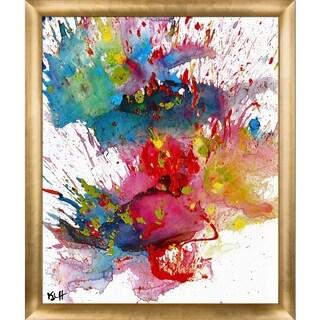 Kris Haas 'Chaotic Craziness Series 2028040214' Framed Fine Art Print