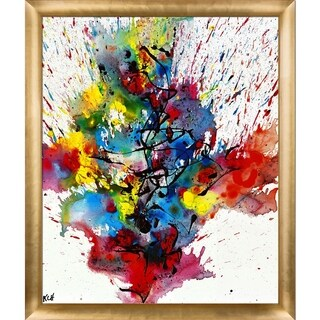 Kris Haas 'Chaotic Craziness Series 2111040514' Framed Fine Art Print
