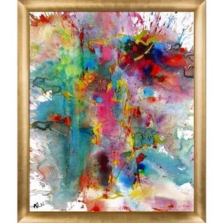 Kris Haas 'Chaotic Craziness Series 1991033014' Framed Fine Art Print