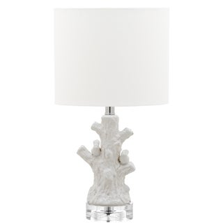 Safavieh Kids Lighting 17.25-inch Lightwood White Mini Tree Lamp