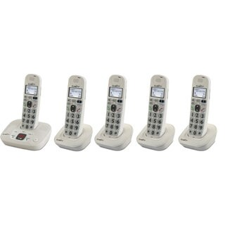 Clarity DECT 6.0 Amplified/Low Vision Cordless Phone with Answering Machine