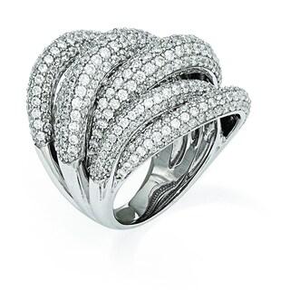 Versil Sterling Silver Cubic Zirconia Ring