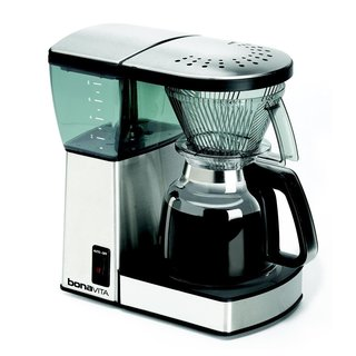 Bonavita BV1800 8-Cup Coffee Maker with Glass Carafe Bundle