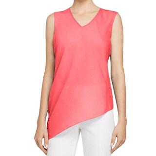 Elie Tahari Savannah 100-percent Silk Asymmetrical Blouse (3 options available)