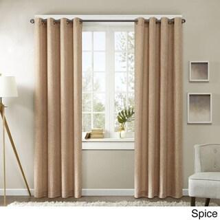 Madison Park Harlowe Texture Curtain Panel