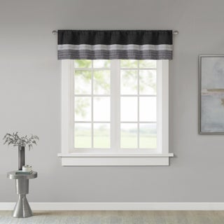 Madison Park Infinity Polyoni Pintuck Window Valance