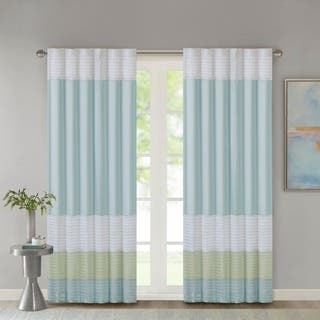 Madison Park Chester Polyoni Pintuck Curtain Panel|https://ak1.ostkcdn.com/images/products/11601070/P18539535.jpg?impolicy=medium