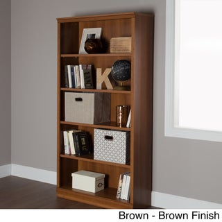 South Shore Morgan 5-shelf Bookcase (3 options available)