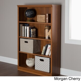 South Shore Morgan 4-shelf Bookcase (4 options available)