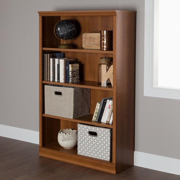 South Shore Morgan 4-shelf Bookcase. Opens flyout.