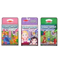 Melissa & Doug Water Wow Bundle Makeup & Manicures, Fairy Tale and Animals