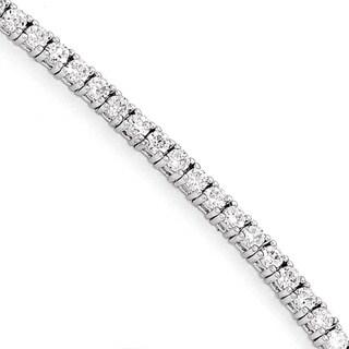 Versil Sterling Silver Cubic Zirconia Bracelet