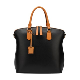Vicenzo Leather Delicio Top Handle Leather Handbag