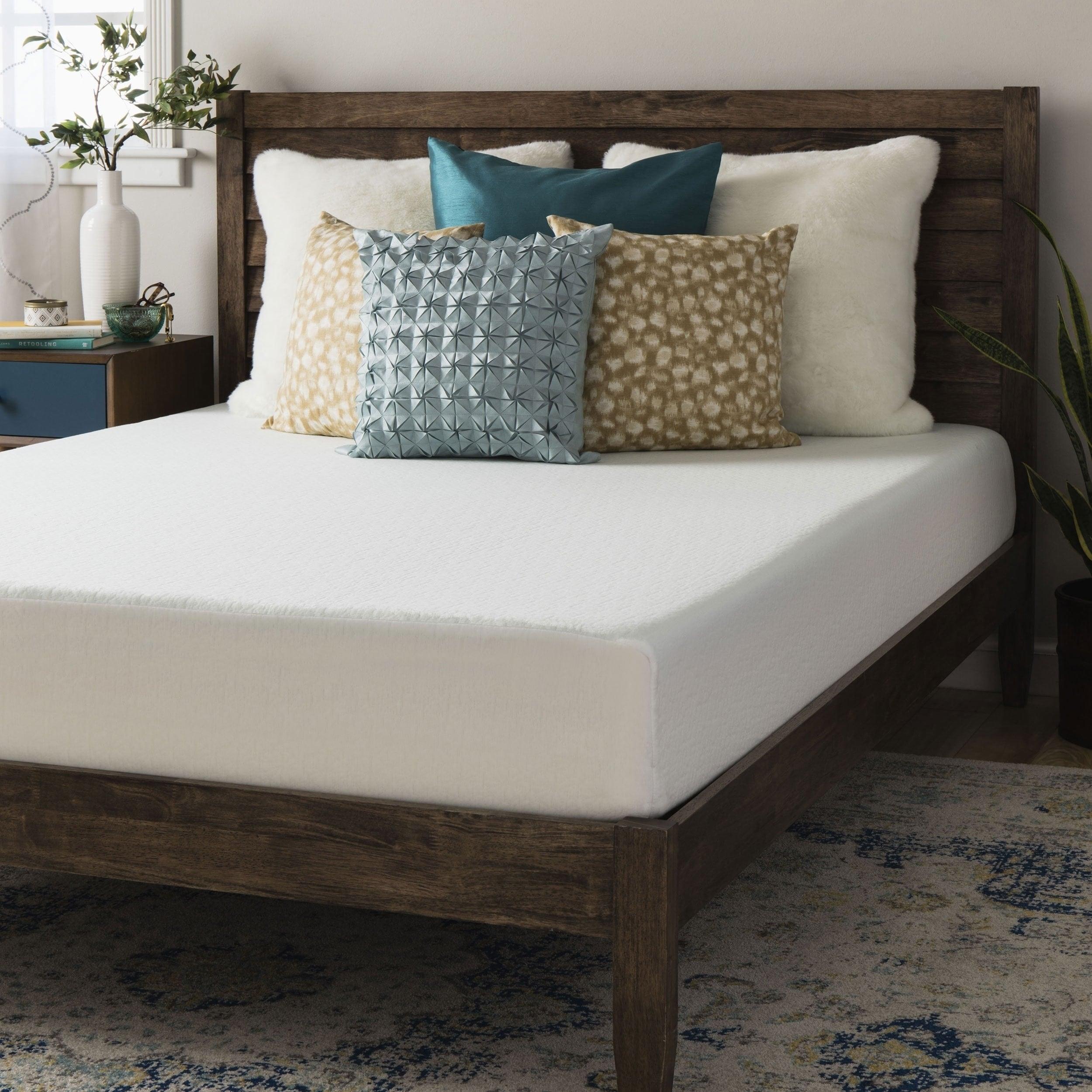 Crown Comfort 8-inch King-size Memory Foam Mattress (8-in...