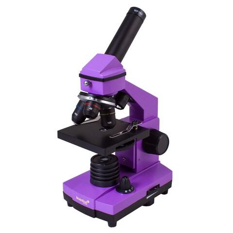 Levenhuk Rainbow 2L PLUS Amethyst Kids Microscope
