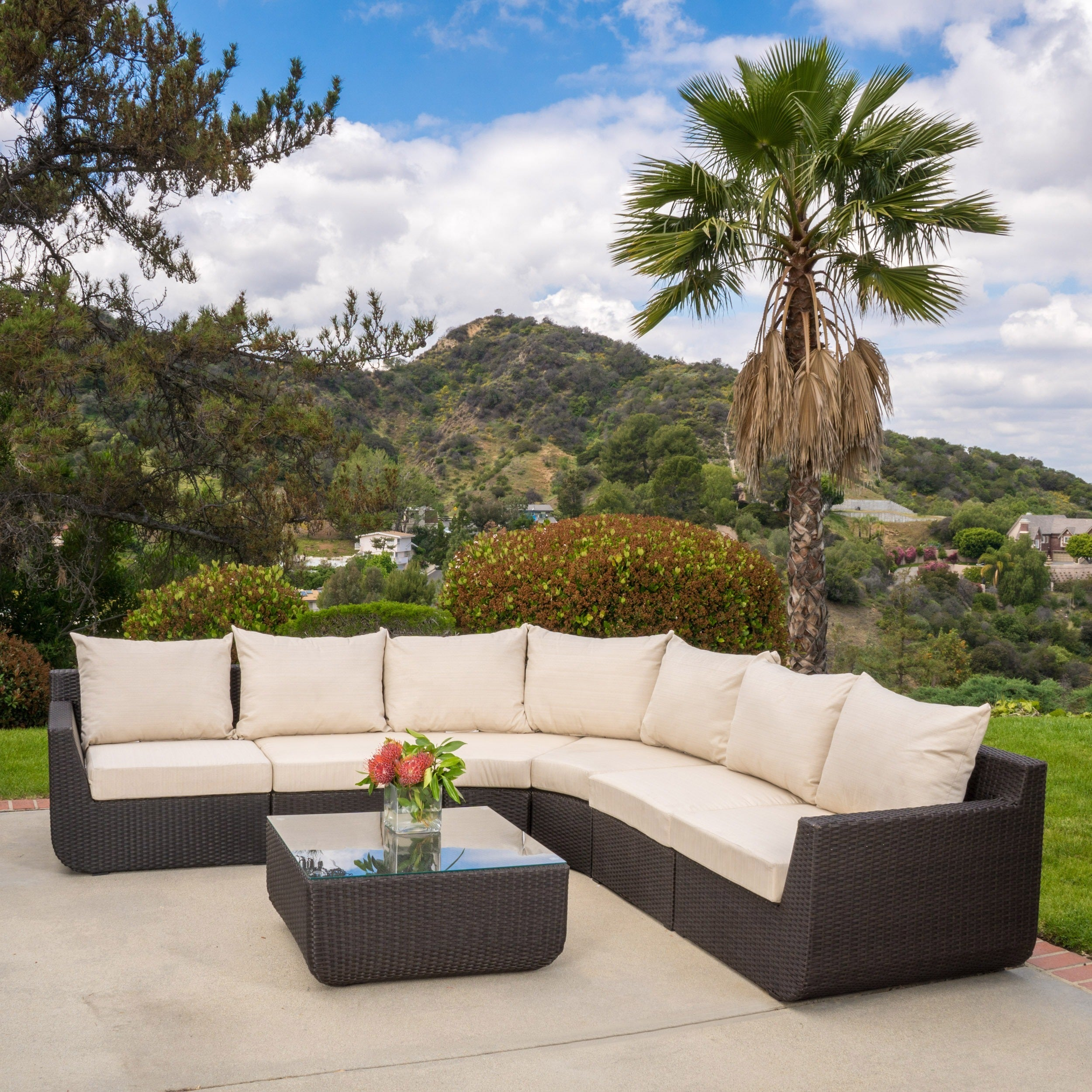 Outstanding Outdoor Sectional Sofa Set Budapestsightseeing Org Bralicious Painted Fabric Chair Ideas Braliciousco