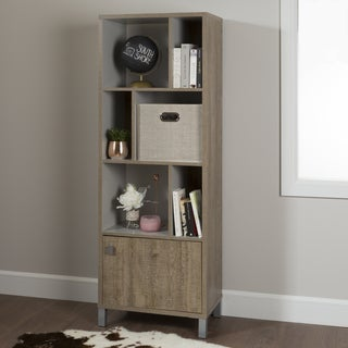South Shore Expoz 6-cube Shelving Unit with Door