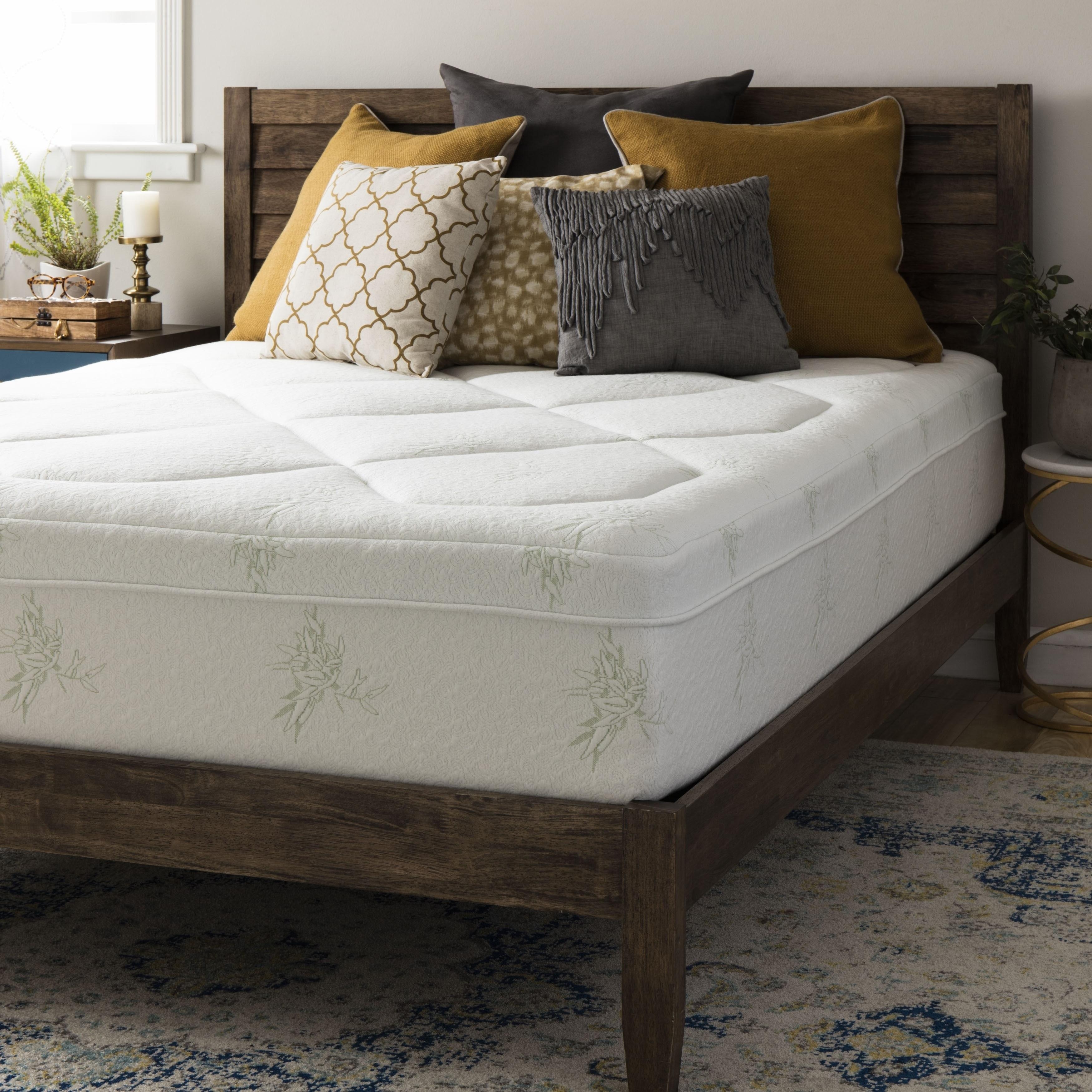 Crown Comfort Premium Grand 12-inch King-size Memory Foam...