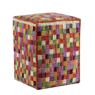 Hand-woven Small Box Multi Pillow (20-inch x16-inch x 16-inch)